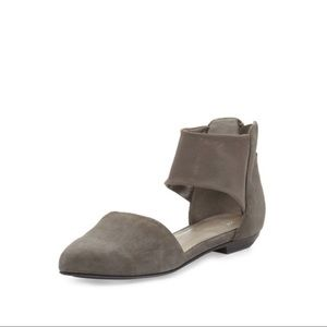 EILEEN FISHER Allot Grey Suede D'Orsay
